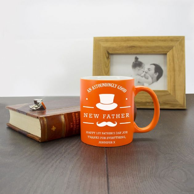 An Astoundingly Good New Father Matte Coloured Mug